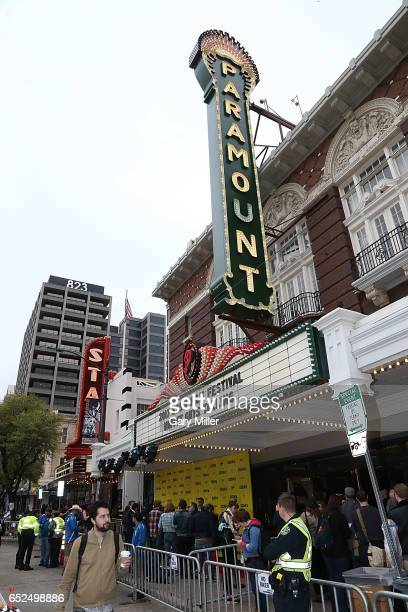 A general view of the atmosphere at the world premiere of 'Muppet Guys Talking' at the Paramount Theater during South By Southwest Film Festival on...