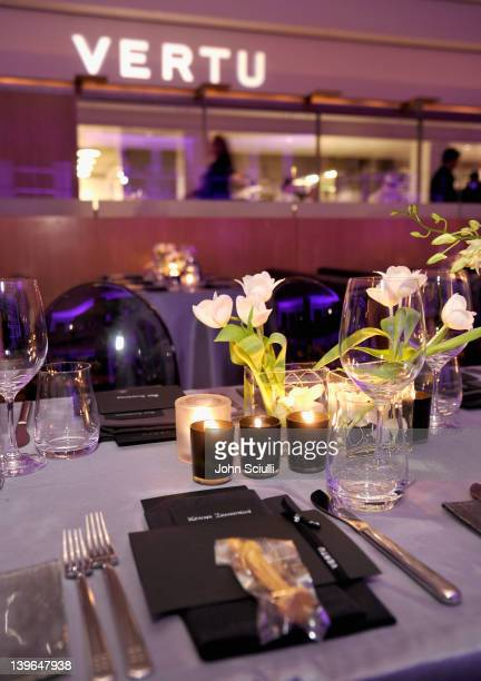 General view of the atmosphere at Vertu and Gelila and Wolfgang Puck Celebrate the Oscars and Dream for Africa Foundation at CUT on February 23, 2012...
