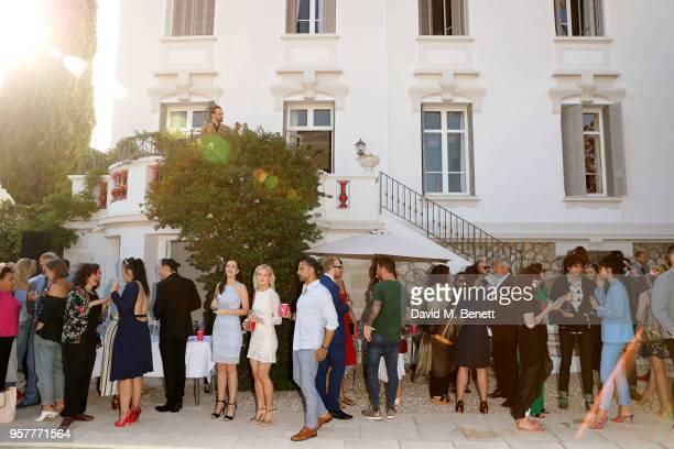 A general view of the atmosphere at WIFT International with Variety Alliance of Women Directors host a cocktail party during the 71st Cannes Film...
