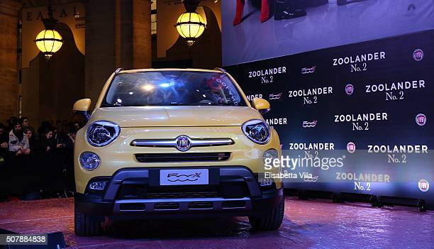 A general view of the atmosphere at Zoolander No2 Fan Screening with Fiat 500X on January 30 2016 in Rome Italy