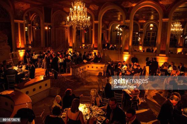General view of the atmosphere during 10th Annual Broadway Dreams Supper at The Plaza Hotel on December 12 2017 in New York City
