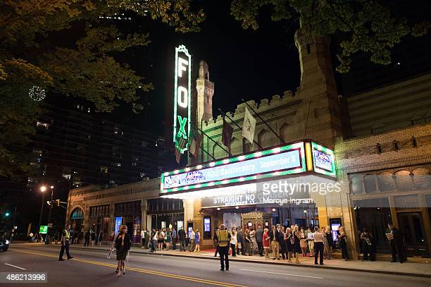 A general view of the atmosphere during '90 Minutes In Heaven' Atlanta premiere at Fox Theater on September 1 2015 in Atlanta Georgia