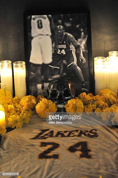 A general view of the atmosphere during a Kobe AD event at MAMA Gallery on November 1 2016 in Los Angeles California