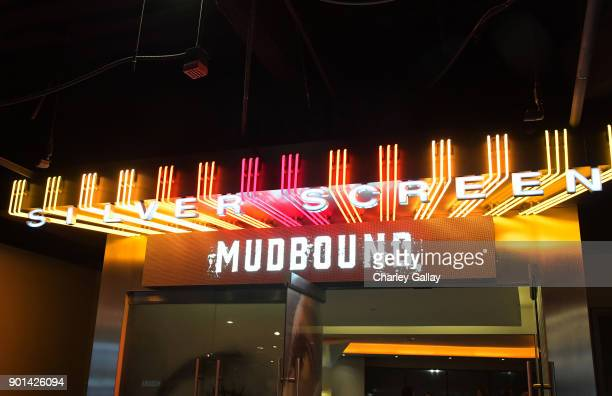 A general view of the atmosphere during a special screening of MUDBOUND hosted by Alfre Woodard on January 4 2018 in West Hollywood California