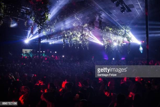 General view of the atmosphere during Bjork's Art Basel DJ set at Mana Wynwood on December 5 2017 in Miami Florida