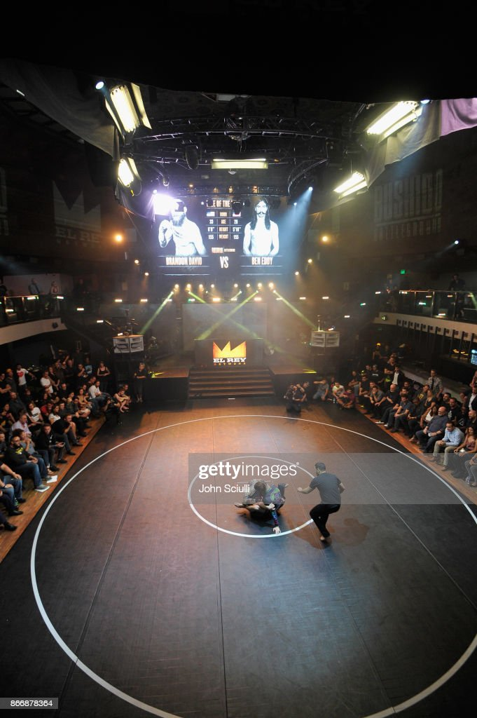A general view of the atmosphere during Bushido Battleground Fight Night at Exchange LA on October 26, 2017 in Los Angeles, California.