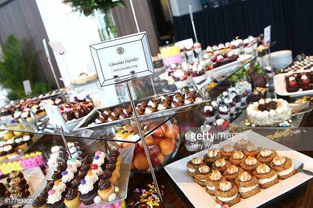 A general view of the atmosphere during Easter Brunch With The McCrary Sisters at Country Music Hall of Fame and Museum on March 27 2016 in Nashville...