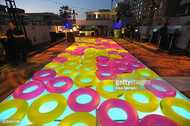 A general view of the atmosphere during Entertainment Weekly's ComicCon Bash held at Float Hard Rock Hotel San Diego on July 23 2016 in San Diego...