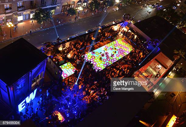 A general view of the atmosphere during Entertainment Weekly's ComicCon Bash held at Float Hard Rock Hotel San Diego on July 24 2016 in San Diego...