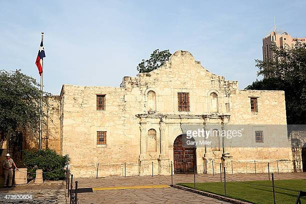 A general view of the atmosphere during History's new miniseries 'Texas Rising' premiere at The Alamo on May 18 2015 in San Antonio Texas