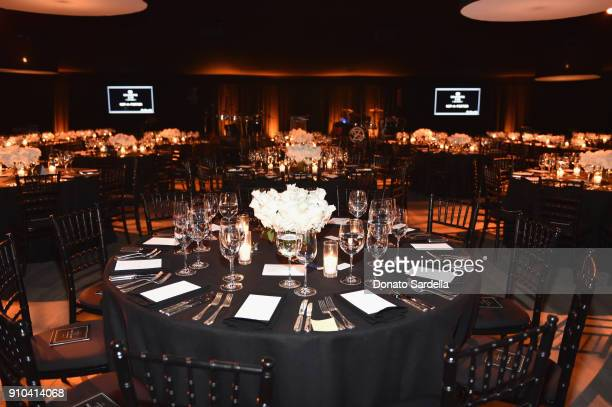 A general view of the atmosphere during Learning Lab Ventures Gala in Partnership with NETAPORTER on January 25 2018 in Beverly Hills California