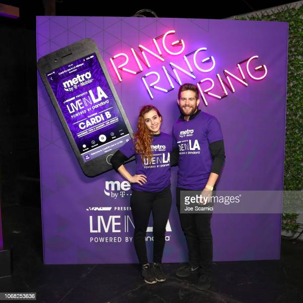 A general view of the atmosphere during Metro By TMobile Presents Live In LA Powered By Pandora Featuring Cardi B And Jhené Aiko at Academy Nightclub...