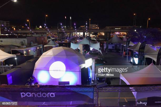 A general view of the atmosphere during Pandora at SXSW 2017 on March 15 2017 in Austin Texas
