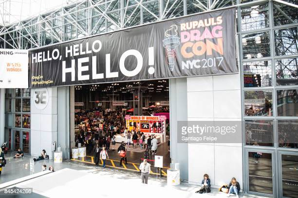 General view of the atmosphere during RuPaul's DragCon NYC 2017 at The Jacob K Javits Convention Center on September 10 2017 in New York City