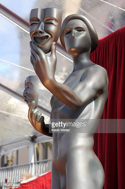 General view of the atmosphere during the 19th Annual Screen Actors Guild Awards at The Shrine Auditorium on January 27 2013 in Los Angeles...