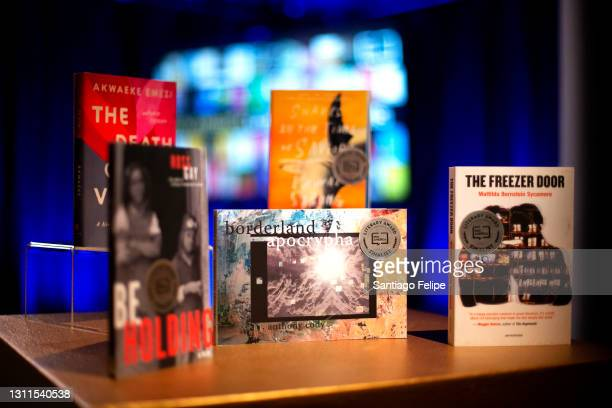 General view of the Atmosphere during the 2021 PEN America Literary Awards on April 07, 2021 in New York City. This year's virtual ceremony streams...