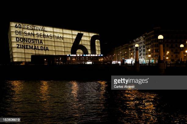 A general view of the atmosphere during the 60th San Sebastian International Film Festival on September 26 2012 in San Sebastian Spain