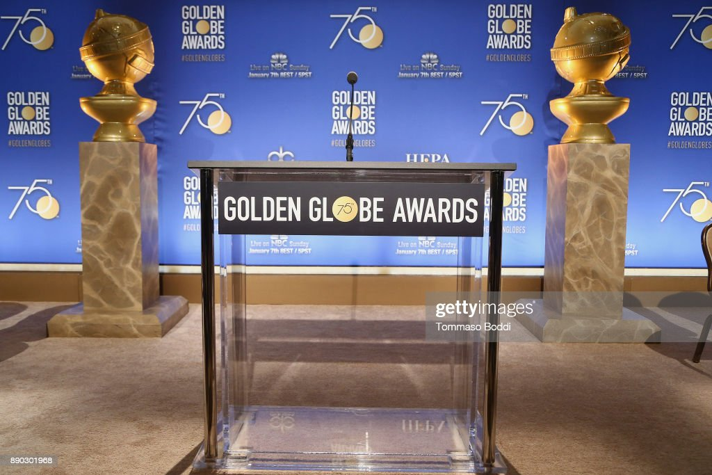 75th Annual Golden Globe Nominations Announcement : News Photo