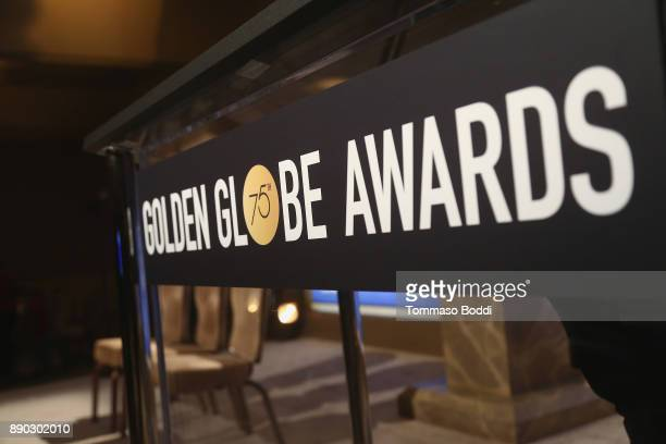 A general view of the atmosphere during the 75th Annual Golden Globe Nominations Announcement on December 11 2017 in Los Angeles California