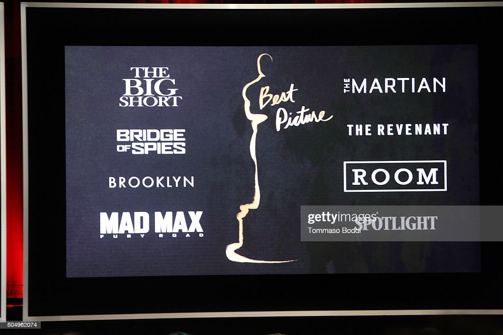 A general view of the atmosphere during the 88th Oscars Nominations Announcement at Academy Of Motion Picture Arts And Sciences on January 14, 2016 in Los Angeles, California.