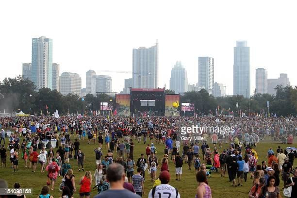 General view of the atmosphere during the Austin City Limits Music Festival at Zilker Park on October 13, 2012 in Austin, Texas.