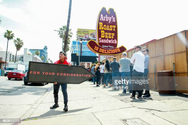 A general view of the atmosphere during the FYC event for FX's 'Baskets' at Arby's on May 29 2018 in Los Angeles California
