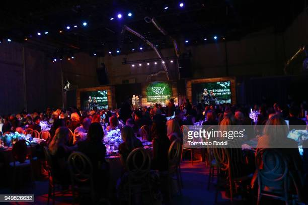 A general view of the atmosphere during The Humane Society Of The United States' To The Rescue Los Angeles Gala at Paramount Studios on April 21 2018...