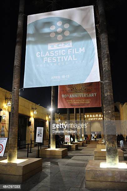 General view of the atmosphere during 'The Italian Job' Screening during the 2014 TCM Classic Film Festival at The Egyptian Theatre on April 11 2014...