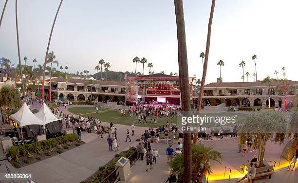 A general view of the atmosphere during the KAABOO Del Mar Official VIP PreParty on September 17 2015 in Del Mar California