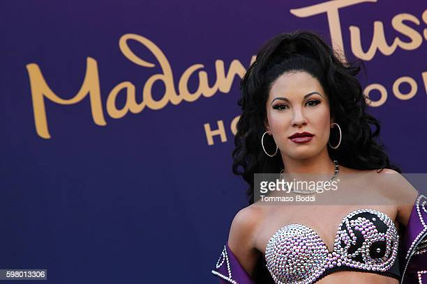 A general view of the atmosphere during the Madame Tussauds Hollywood Unveils A Wax Figure Of Selena Quintanilla at Madame Tussauds on August 30 2016...