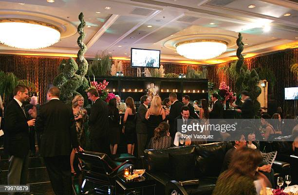 A general view of the atmosphere during the MercedesBenz Oscar viewing party held at the Four Seasons Hotel on February 24 2008 in Beverly Hills...