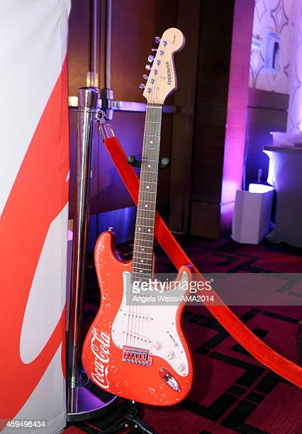 A general view of the atmosphere during the official 2014 American Music Awards after party at the at Nokia Theatre LA Live on November 23 2014 in...