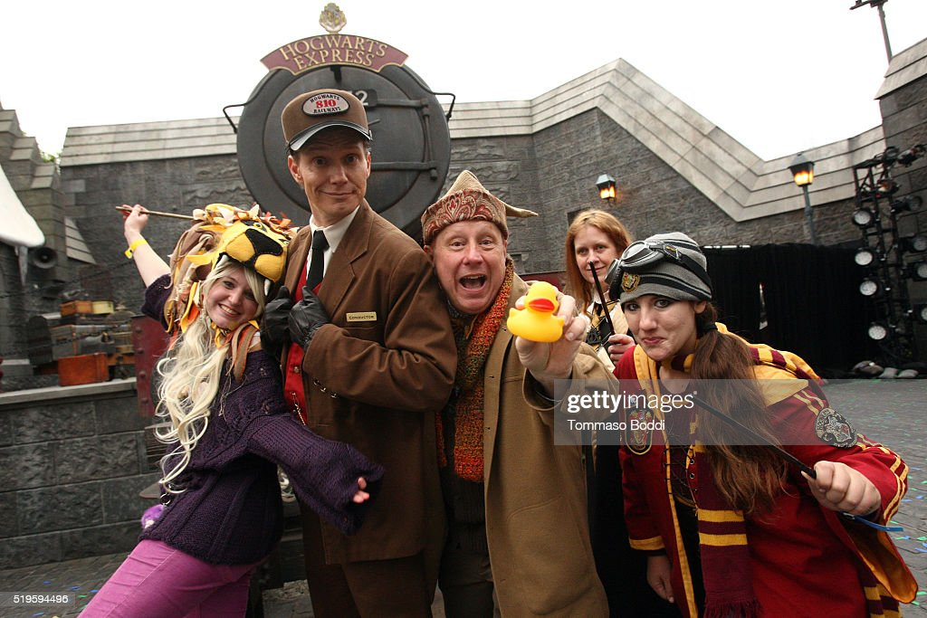 """Official Opening Of """"The Wizarding World Of Harry Potter"""" At Universal Studios Hollywood : News Photo"""
