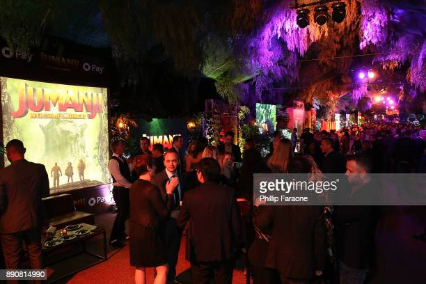 """General view of the atmosphere during the premiere of Columbia Pictures' """"Jumanji: Welcome To The Jungle"""" - After Party on December 11, 2017 in..."""