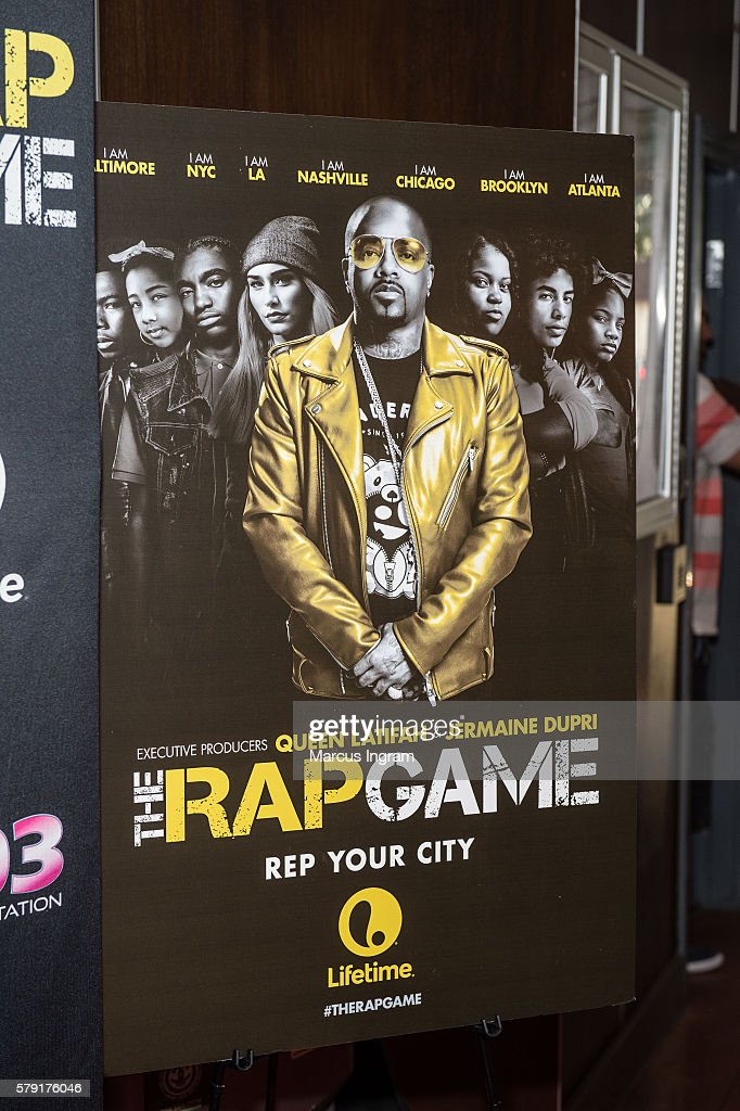 """Private Screening Of Lifetime's """"The Rap Game"""" In Atlanta Hosted By Executive Producer Jermaine Dupri : Nachrichtenfoto"""
