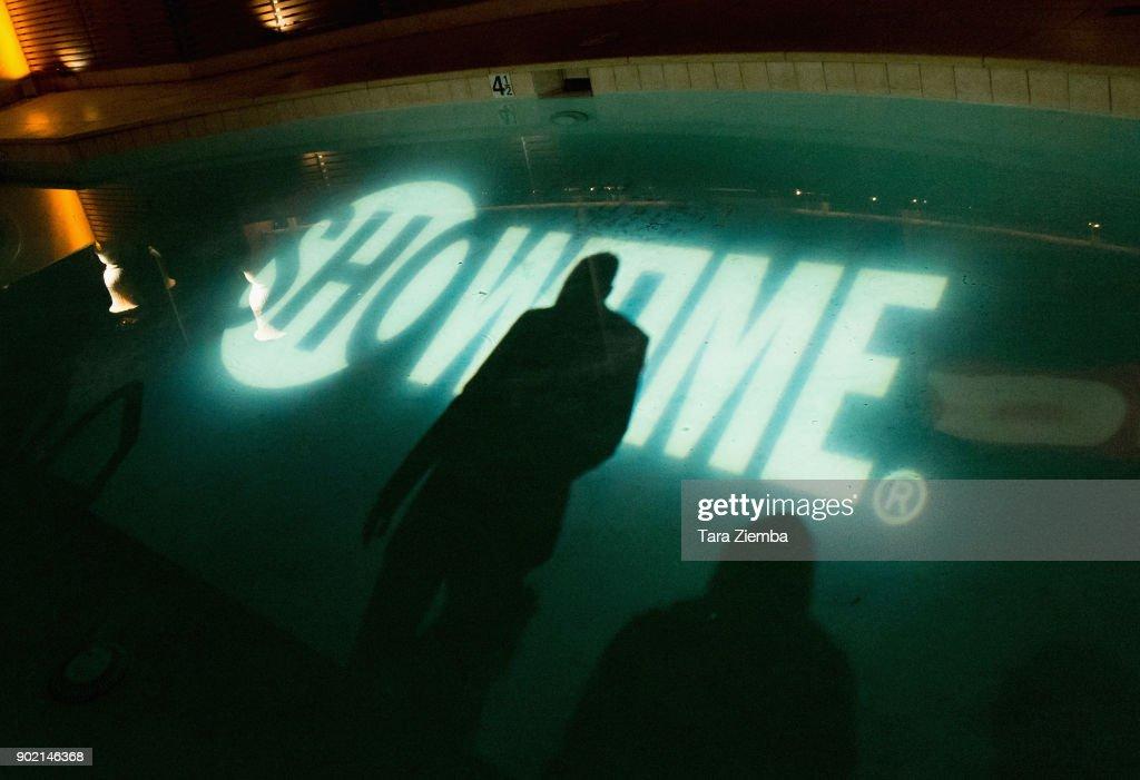 CA: Showtime Golden Globe Nominees Celebration - Inside