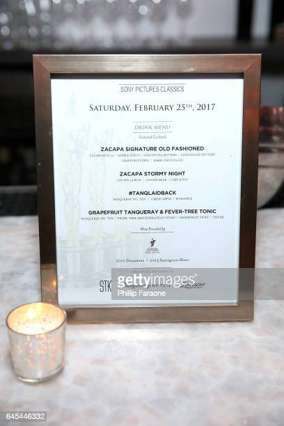 A general view of the atmosphere during the Sony Pictures Classics' Annual PreAcademy Awards Dinner Party at STK on February 25 2017 in Los Angeles...