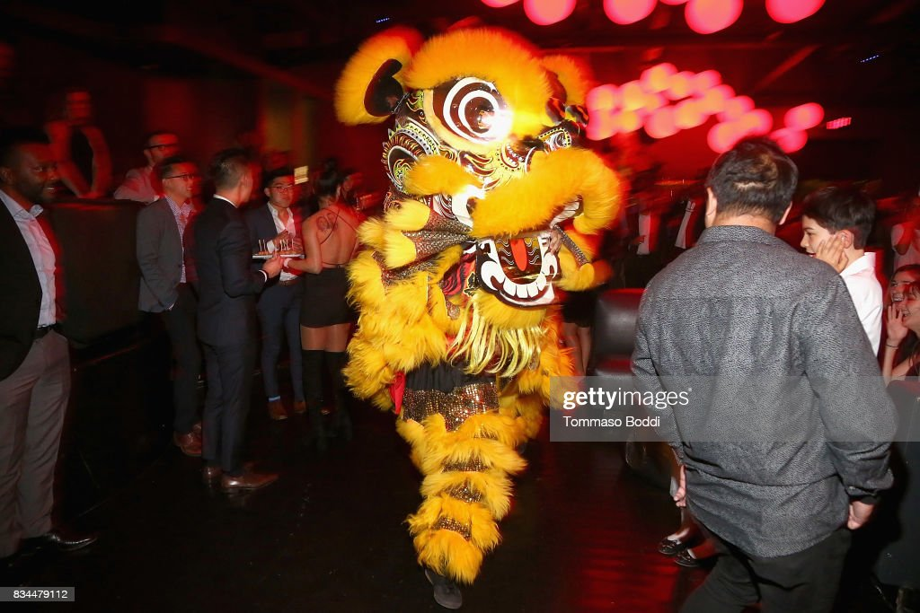 A general view of the atmosphere during the special screening WWE Studios' 'Birth Of The Dragon' After Party on August 17, 2017 in Hollywood, California.