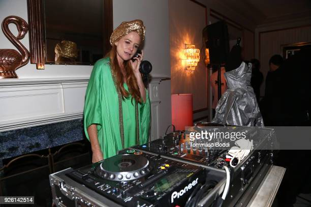 A general view of the atmosphere during the Suzy Amis Cameron's 9th Annual Red Carpet Green Dress PreOscars Celebration At The Private Residence of...