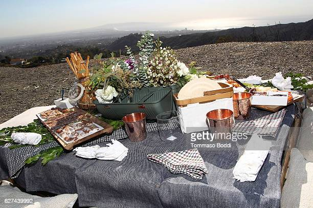 A general view of the atmosphere during the Whitney Port Hikes with Allbirds and Friends on December 3 2016 in Los Angeles California