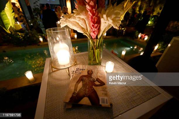 A general view of the atmosphere during Vanity Fair Amazon Studios and Audi Celebrate The 2020 Awards Season at San Vicente Bungalows on January 04...