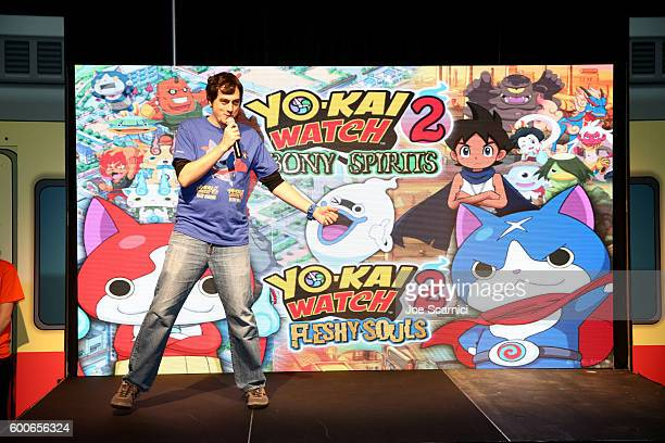 A general view of the atmosphere is seen at the YOKAI WATCH 2 preview event at Siren Studios on September 8 2016 in Hollywood California