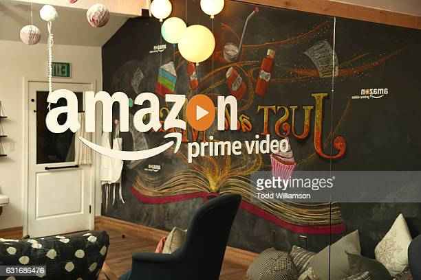 A general view of the atmosphere is seen during the second season premiere of Amazon Original Series 'Just Add Magic' at Au Fudge on January 14 2017...