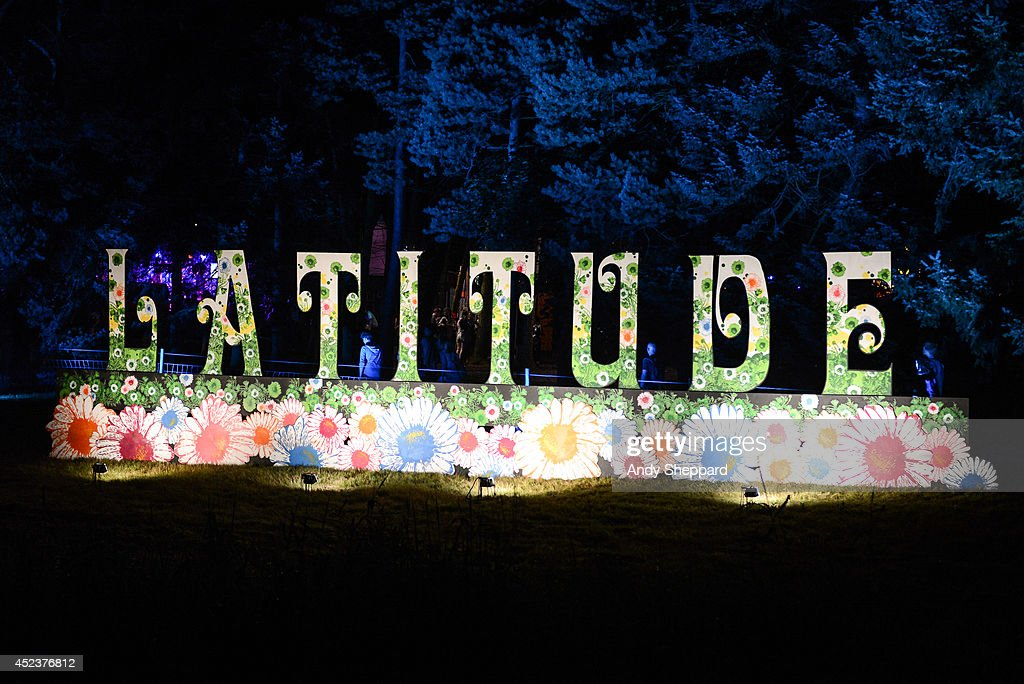 A general view of the atmosphere Latitude Festival 2014 at Henham Park Estate on July 18, 2014 in Southwold, United Kingdom.