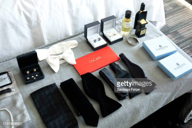 General view of the atmosphere while Billy Porter prepares for the 91st Academy Awards at Lowes Hollywood Hotel on February 24 2019 in Hollywood...