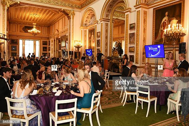 General view of the atmospherea at The Dream Ball in aid of The Prince's Trust and Big Change at Lancaster House on July 7, 2016 in London, United...
