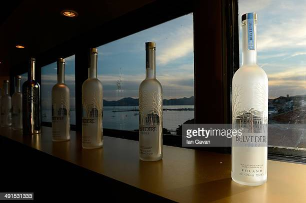 General view of the atmostphere at the Belvedere Vodka's Cannes party featuring a performance from Rita Ora on May 16 2014 in Cannes France