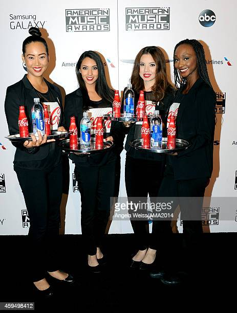 A general view of the atmsophere during the official 2014 American Music Awards after party at the at Nokia Theatre LA Live on November 23 2014 in...