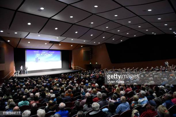 """General view of the audience at a screening of ÒStanding Up, Falling Down"""" at the 31st Annual Palm Springs International Film Festival on January 6,..."""