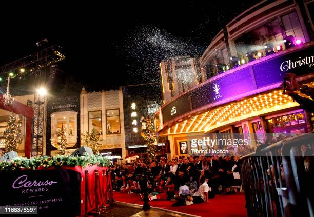 A general view of the audience at Christmas at The Grove A Festive Tree Lighting celebration at The Grove on November 17 2019 in Los Angeles...